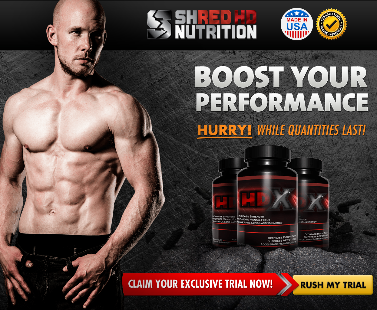 Shred HDX Supplement