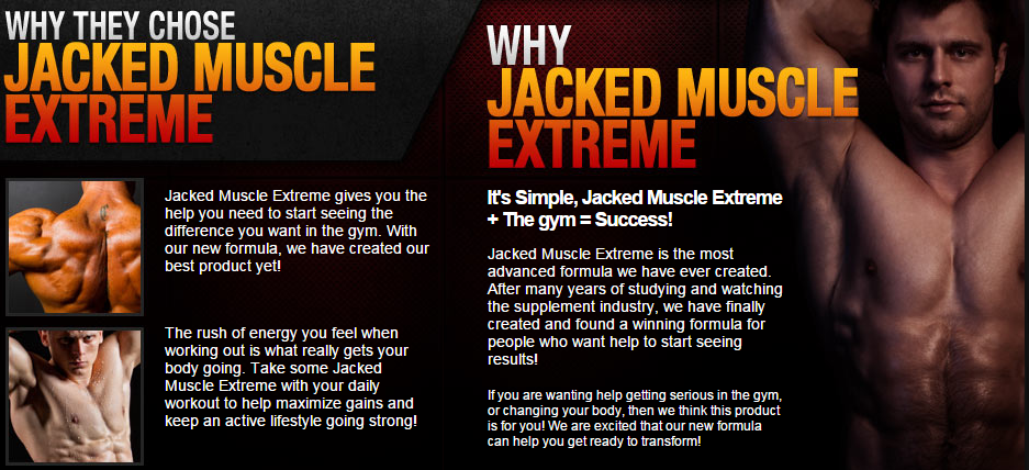Why Jacked Muscle Extreme